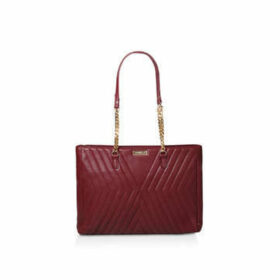 Carvela Famous Quilted Bag - Wine Quilted Tote Bag