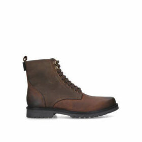 Kurt Geiger London Charles Boot - Brown Lace Up Ankle Boot