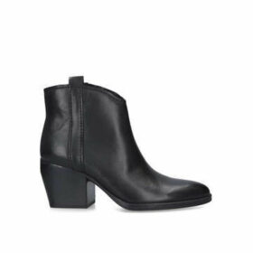 Naturalizer Fairmont - Black Block Heel Ankle Boots