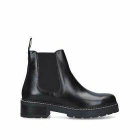 Carvela Taken - Black Chunky Sole Chelsea Boots