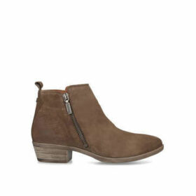 Barbour Una - Taupe Ankle Boots