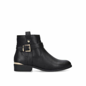 Carvela Comfort Trudy - Black Buckle Ankle Boot