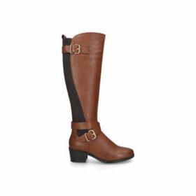 Aldo Elvaralith - Brown High Leg Buckle Boots