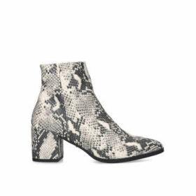 KG Kurt Geiger Tafni - Snake Print Ankle Boots