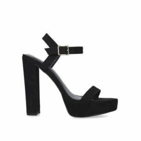 Carvela Greed - Sandal With Ankle Strap And Block Heel