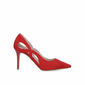 Carvela Karma - Red Cut Out Detail Court Shoe
