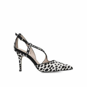 Aldo Hendabeth - Monochrome Cross Strap Heeled Courts