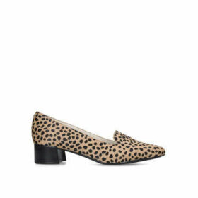 Anne Klein Kimbra - Leopard Print Loafer With Block Heel