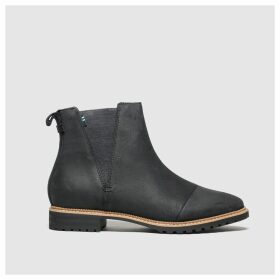 Toms Black Cleo Boots