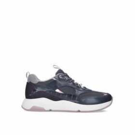 Cole Haan Zerogrand City Trainer - Lace Up Mixed Material Trainer