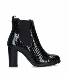 Crocodile-Embossed Royal Chelsea Boots 85