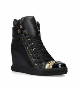 Chain-Detail Sneaker Boots 80