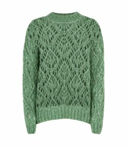 Alex Open-Weave Sweater