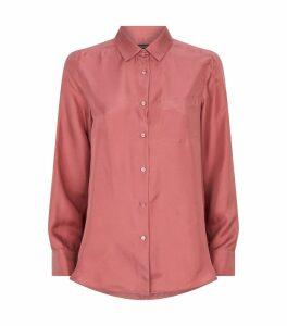 Zigrino Silk Twill Shirt
