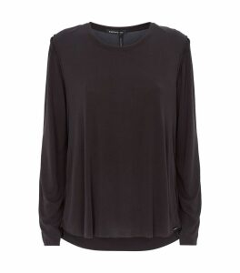 Long-Sleeve Prime Cupro Top