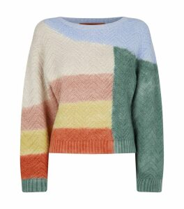 Knitted Colourblock Sweater