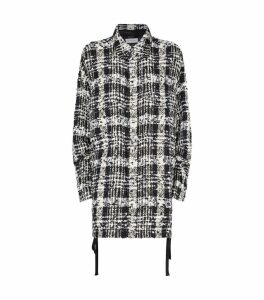 Oversized Check Overshirt