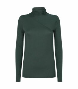 Long-Sleeved Rollneck Top