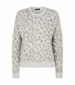 Marlo Leopard Print Sweater