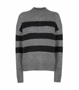 Ellise Metallic Stripe Sweater