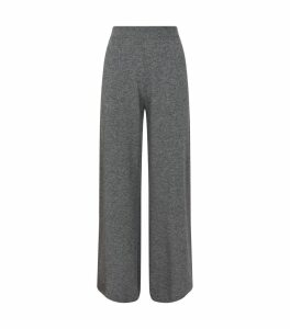 Wool-Cashmere Knitted Trousers
