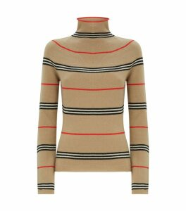 Cashmere Icon Stripe Sweater