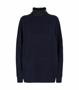 Embellished Rollneck Sweater