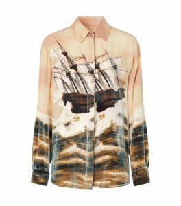 Ship Print Shirt