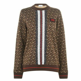 Burberry Tb Crew Neck Sweatshirt