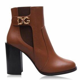 Dolce and Gabbana Calfskin Nappa Ankle Boots