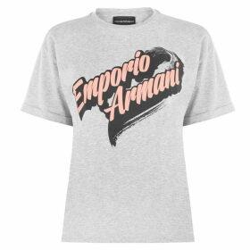 Emporio Armani Emporio Armani Fun Logo T Shirt