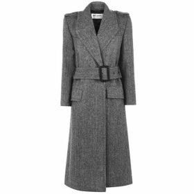 Saint Laurent Chevron Coat