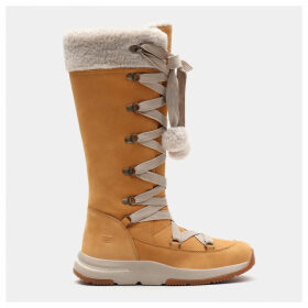 Timberland Mabel Town Mukluk Boot For Women In Yellow Yellow, Size 9