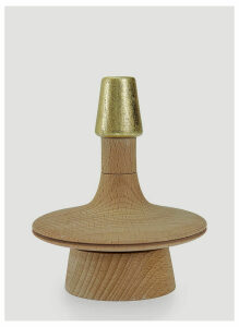 House of Today Toopi Lebanon Spinning Top in Brown size One Size