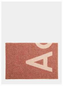 Acne Studios Toronty Logo Scarf in Pink size One Size