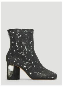 Maison Margiela Tabi Broken Heel Boots in Black size EU - 40