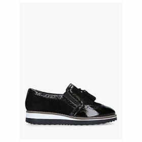 Carvela Maker Flatform Loafers, Black
