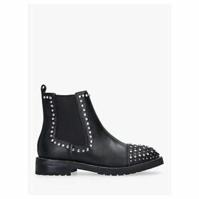 Kurt Geiger London Raven Studded Leather Ankle Boots, Black
