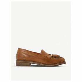 Giorgeo tasselled leather loafers