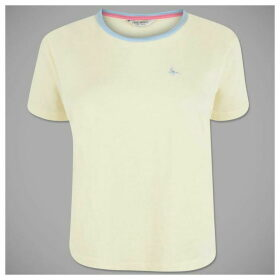 Jack Wills Milsom Cropped Plain Ringer T Shirt