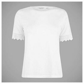 Jack Wills Breightone Lace T Shirt