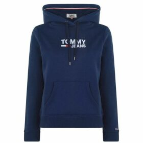 Tommy Jeans Logo Hoodie - Blue