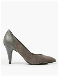 M&S Collection Suede Contrast Back Court Shoes