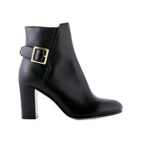 Vaboucle Leather Heel Boots