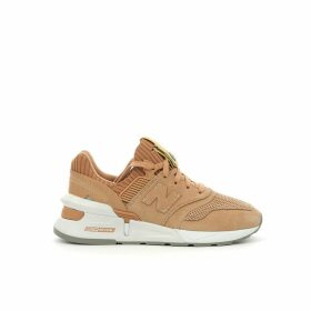 WS997B ALA Leather Mix Trainers