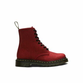 Pascal Glitter Lace-Up Boots