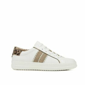 Pontoise Leather Mix Trainers