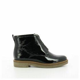 Oxfordzip Leather Boots