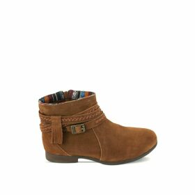 Dixon Suede Western Boots