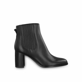 Ylenia Leather Heeled Boots